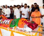 Former CM Babulal Gaur cremated