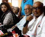 Violent ideology of Gandhi's killer has won: Digvijaya