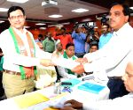 BJD, BJP candidates file papers for RS by-polls in Odisha