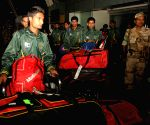 Pakistani Hockey team arrives  in Bhubaneswar