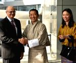 Bhutan PM arrives in India