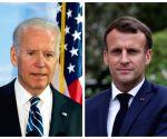 Biden, Macron agree to meet in Rome