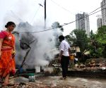 BMC workers carry out fumigation drive