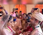 Free Photo: Big B 'features' in Aditya Narayan's wedding video in a quirky way
