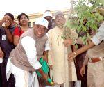 "Jitan Ram Manjhi during ""Bihar Prithvi Diwas"""