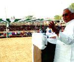 Munger (Bihar): Nitish Kumar's election rally