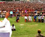 Nitish Kumar's rally