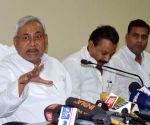 Nitish Kumar's press conference