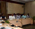 Bihar CM during a meeting