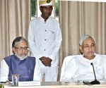Bihar CM and Dy CM during a meeting