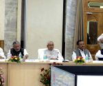 Nitish Kumar, Sushil Kumar Modi during a programme