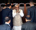 Nitish Kumar at state assembly