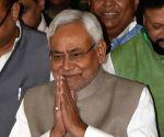 Nitish Kumar at state legislative assembly