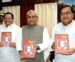 Nitish Kumar during a book launch