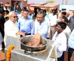 Nitish assess the development works