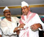 Nitish Kumar at an iftar party