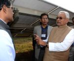 Banka (Bihar): Bihar CM inspects solar power plant