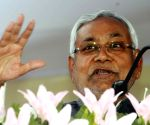 Nitish Kumar flags off 12 electric buses in Bihar
