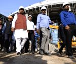 Nitish Kumar inspects construction of  International Convention Center