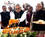 Nitish Kumar pays tribute to Rajendra Prasad