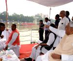 Bihar CM reviews preparations for Chhath Puja at Ganga Ghats