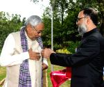 Nitish Kumar on Flag Day
