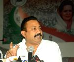 Ashok Choudhary's press conference