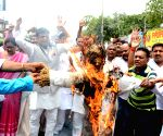 Congress' demonstration over fuel price hike