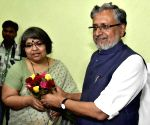 Sushil Kumar Modi assumes charge as Bihar Dy CM