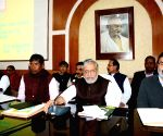Sushil Kumar Modi during a Budget meeting