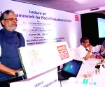 Sushil Kumar Modi, Arvind Subramanian during seminar organised by ADRI