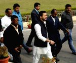 Tejashwi Yadav at state assembly