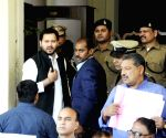 Tejaswi Yadav at Bihar Assembly