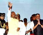Fagu Chauhan, Sushil Kumar Modi during a programme