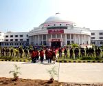 Bihar Governor arrives at state assembly