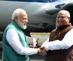 Lalji Tandon welcomes PM Modi