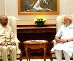 Ram Nath Kovind meets PM Modi