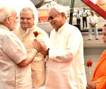 PM Modi arrives in Patna