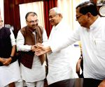 Mangal Pandey takes oath as MLC