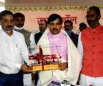 Bihar Industries minister Syed Shahnawaz visited Khadi Mall in Patna on Tuesday  02nd March, 2021