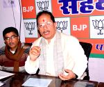 Vijay Sinha at a BJP programme