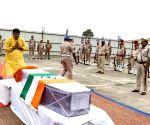 MLA Shakti Singh Yadav pays tributes to slain CRPF soldier