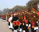Danapur (Bihar): Passing-out parade at Bihar Regimental Center