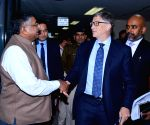 Bill Gates meets Union Minister Ravi Shankar Prasad
