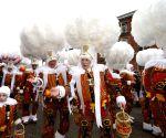 BELGIUM BINCHE CARNIVAL GILLES MARCH