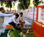AASU students pay floral tribute to the martyrs of Assam Agitation during 'Swahid Divas'