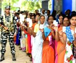 Amid violence, 66% turnout in Bengal