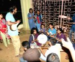 Visva-Bharati varsity students protest against fee hike