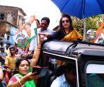 Birbhum (West Bengal): 2019 Lok Sabha elections - TMC's Satabdi Roy during poll campaign