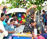 Birthday celebration of Manchu Manoj